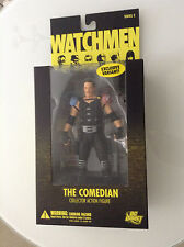 WATCHMEN THE COMEDIAN COLLECTOR EXCLUSIVE VARIANT FIGURE DC DIRECT SERIES 2 NEW