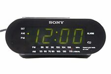 Sony Dream Machine Icf-C218 Black Am Fm Digital Alarm Clock Radio