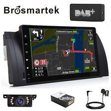 DAB+ Android10.0 Car Stereo BT WIFI Sat Nav Radio for BMW 5 Series E39 E53 X5 M5