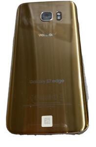 Samsung Galaxy S7 Edge 32GB - Gold- (Verizon) Smartphone SMG935VVRU4BQG1