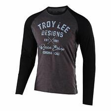 Troy Lee Designs TLD Manga Larga Camiseta De Colección raceshop Carbón/Negro