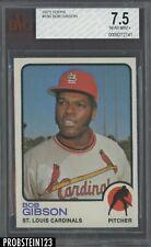 1973 Topps #190 Bob Gibson St. Louis Cardinals HOF BVG 7.5 NM +