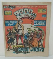 2000AD Prog 376 (1984) Newsprint Comic 1st Halo Jones Appearance Judge Dredd