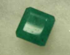 UNIQUE 04CT SQUARE  SHAPE NATURAL  EMERALD  GEM STONE FROM BRAZIL