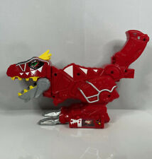 Power Rangers Super Dino Charge T-Rex Morpher Set + Red T-Rex Dino Charger