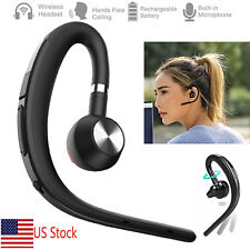 V4.1 Bluetooth Headset Earpiece Universal For Ios iPhone Xs X 8 7 7 Plus 6 Lg G6