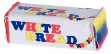 MINIATURE DOLLHOUSE 1:12 SCALE - 2 LOAVES OF WONDER BREAD - FA59902