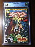 Tomb of Dracula #10 (1973) - 1st Blade! - CGC 7.5!! - White Pages!