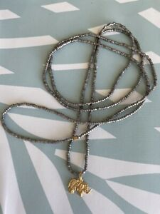 Dream Mullick Seeds Of Faith Gold Small Magic Elephant Wrap Bracelet New