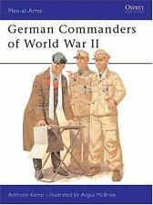 German Commanders of World War 2 (Men-At-Arms Series, No. 124)-ExLibrary