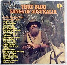 LP True Blue Songs Of Australia Various KTel NA454 Gatefold Vinyl record