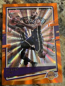 2029-21  Donruss Basketball Lebron James Orange Laser Sp Lakers