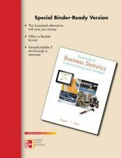 Essentials of Business Statistics: Communicating with Numbers