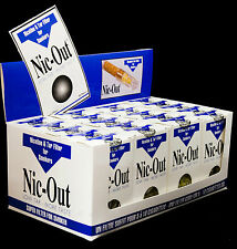 Authentic Nic-Out Cigarette Filters - Box of 20 Packs