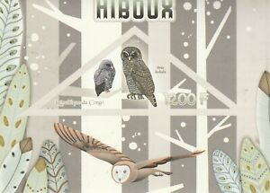 Owls Congo 2014 Mint 1783