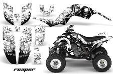 ATV Decal Graphic Kit Quad Sticker Wrap For Yamaha Raptor 660 2001-2005 REAPER W
