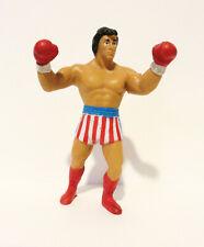 "RARE Vintage 1985 Original Rocky Balboa Eraser PVC 4.25"" Figure Winston Toys"
