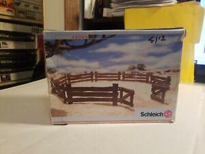 Schleich 42006 Fence Set Retired 2007 Wild Life Collection