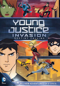 Young Justice: Invasion Destiny Calling: Season 2 Part 1 (2 Disc) DVD NEW