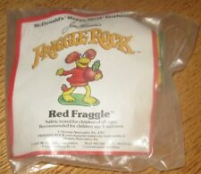 1987 Fraggle Rock McDonalds Happy Meal Toy - Red Fraggle