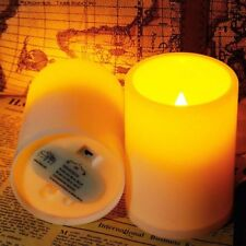 2 × Flameless LED Candle Flickering Tea Light Battery Wedding Party Home Candles