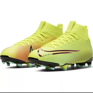 Nike Mercurial Superfly 7 Academy MDS FG/MG Junior BQ5409 703 Soccer Cleats 5.5