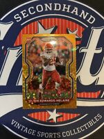 2020 Panini Prizm Clyde Edwards-Helaire Rookie #328 Chiefs RC Orange Disco