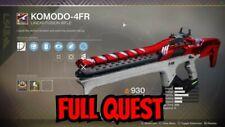 Destiny 2 KOMODO-4FR Full Quest Heard of  the Dragon Ps4 / Cross Save