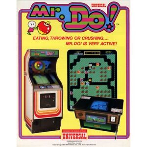 Mr Do! Free Play and High Score Save Kit Arcade