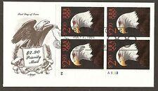 #2540 $2.90  Eagle & Olympic Rings - Artmaster FDCPB4