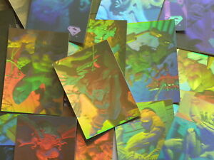 SUPERMAN HOLOGRAM SERIES - SKYBOX - 1996 TRADING CARDS - Pick Your Cards (MT01)