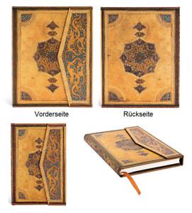 Paperblanks Notizbuch Tagebuch mit Klappverschluss Safawidisch