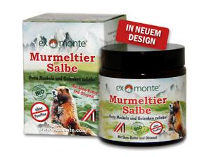 Exmonte Murmeltiersalbe Original - 100 ml - ohne Paraffine
