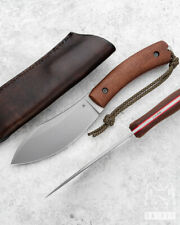 CUSTOM HANDMADE SURVIVAL KNIFE NESSMUK TACTICAL 2 M390 MICARTA AK