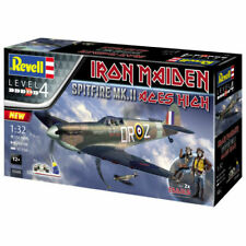 Revell (05688) - Spitfire Mk.II Aces High Iron Maiden, Level 4 Plastic Model Kit, Scale 1:32 - Multicoloured