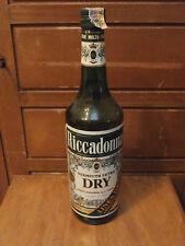 Bottiglia vintage Riccadonna vermouth dry 1 L liquore bar 18.5% sigillata vermut