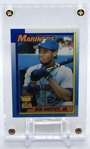 KEN GRIFFEY JR 1990 Topps ERROR Card #336 MISPRINT All-Star ROOKIE BLOODY SCAR