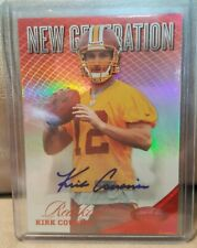 2012 Kirk Cousins Certified New Generation Red Auto Autograph 76/350