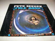 PETE SEEGER FOLK MUSIC LIVE AT THE VILLAGE GATE LP EX Verve FVS-9013 1965