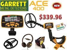 "New Garrett Ace 400 Metal Detector w/ 11"" Dd Coil, Free Headphones & Shipping"