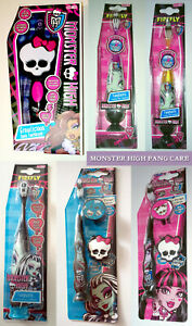MONSTER HIGH TOOTHBRUSH Fangtastic TURBO / TIMER Growlicious Sonic MANUAL TRAVEL