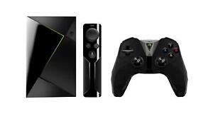 Nvidia SHIELD TV with Remote and Controller, Black   FAST AND FREE DELIVERY