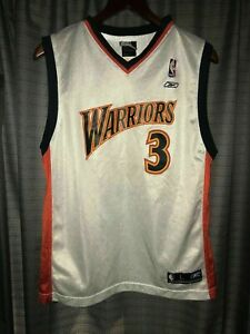 """Golden State Warriors #3 Finding """"NEMO"""" WE BELIEVE Jersey Child Size Large 14-16"""