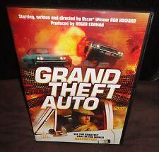 Grand Theft Auto (DVD, 1977) Ron Howard