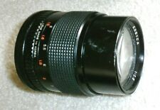 Canon FD Mount f/2.8 135mm Telephoto Lens AE1 A1 F1 AV1 AL1 AT1 T50 T70 Tested