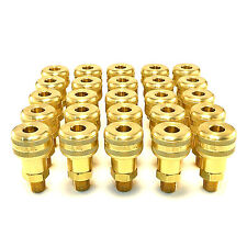 "25pc Foster Quick Connect 1/4"" Male Npt Air Hose Coupler Milton M Fittings 756"