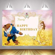 BoTong Beauty and The Beast Birthday Party Background Photo Beaty Pincess...