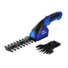 Sun Joe Grass Shear/Hedge Trimmer 2-in-1 Cordless Electric 7.2-Volt Dark Blue