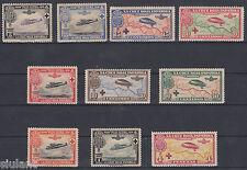 SERIE CRUZ ROJA AEREA - * 339/348 - AÑO 1927 - COMPLETA CON GOMA ORIGINAL
