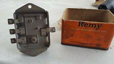 Vintage Voltage Regulator Delco Remy model 1118213 1937 Buick